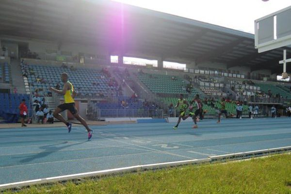 Loïc Prévot sur 100 mètres