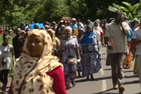 Marche Mayotte contre la violence