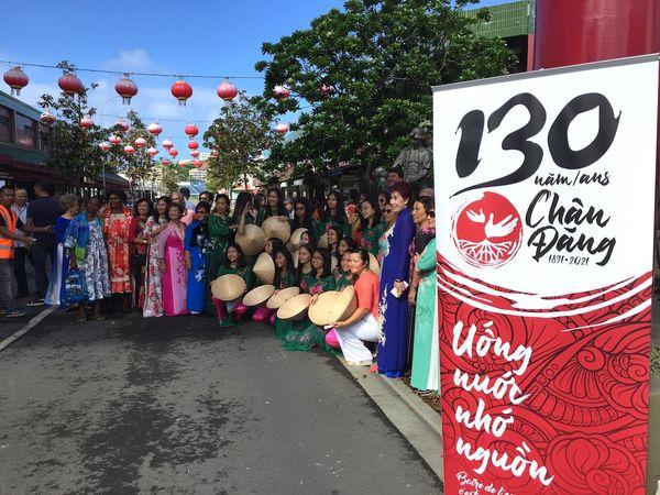 Commémoration des premiers Chan Dang, Nouméa, 15 mai 2021