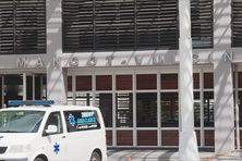 L'hôpital de Mangot-Vulcin au Lamentin.