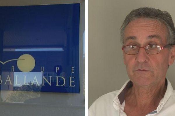 Hubert Bantegny, directeur de Ballande Pacifique.
