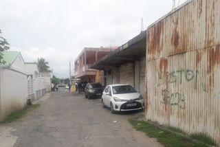 La ruelle où la fusillade a eu lieu