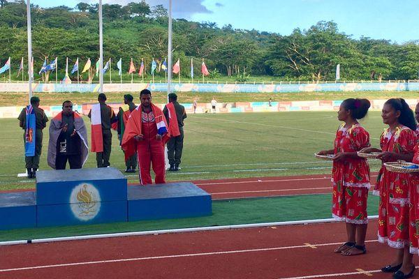 Falemanu AVEUKI remporte la 4ème médaille de Wallis et Futuna