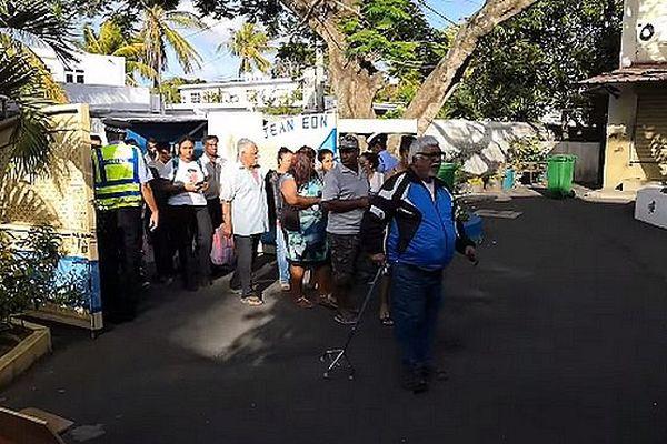 Election législatioves à l'île Maurice 7 nov 2019