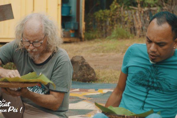 Kalou Pilon avec Danyèl Waro
