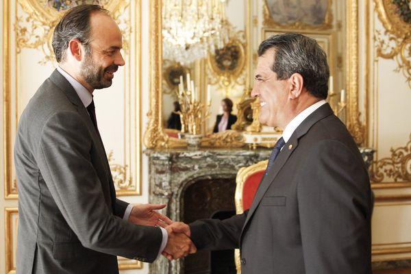 Fritch et Edouard Philippe