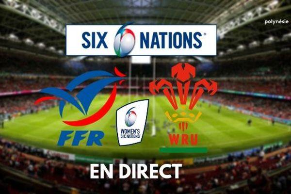 [RUGBY] Tournoi des VI Nations Féminin : France / Pays de Galles en direct