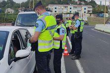 Opération de contrôle des autorisations de déplacement des automobilistes (Samedi 17 avril 2021)