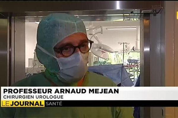 Dr Arnaud Mejean, urologue à l'hôpital Georges Pompidou