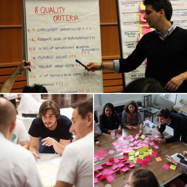 Avec son entreprise sociale, InternsGoPro, Régis souhaite que les stagiaires en Europe soient mieux considérés