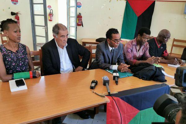 Conférence de presse affaire Kéziah Nuissier
