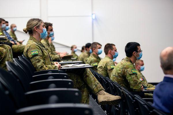 Australie confinement armée