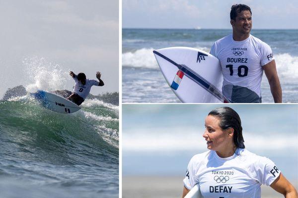 JO surf 1er jour