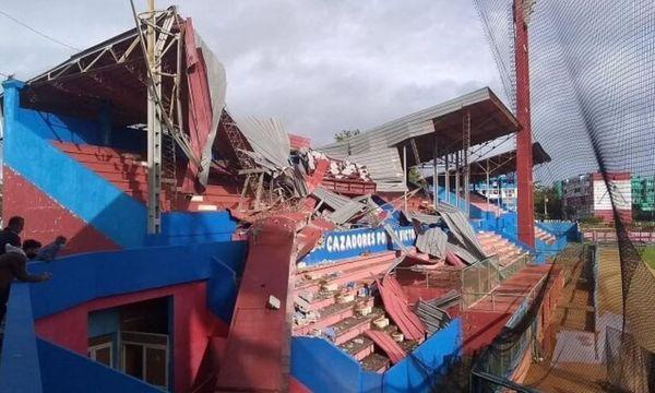 Cuba stade détruit