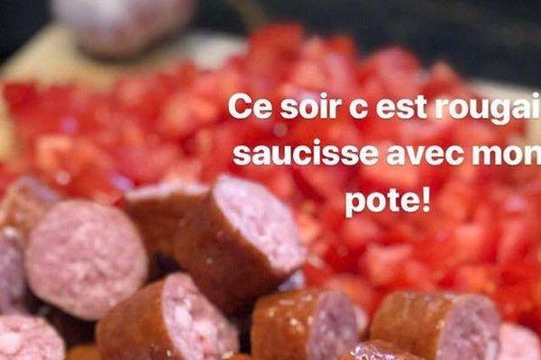 Cyrille Lignac : rougail saucisse insta