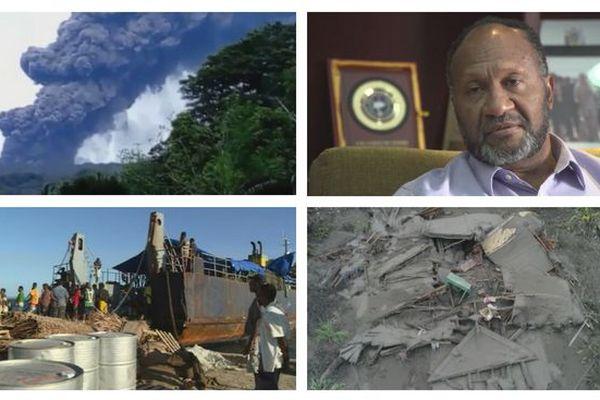 Situation à Ambae, août 2018