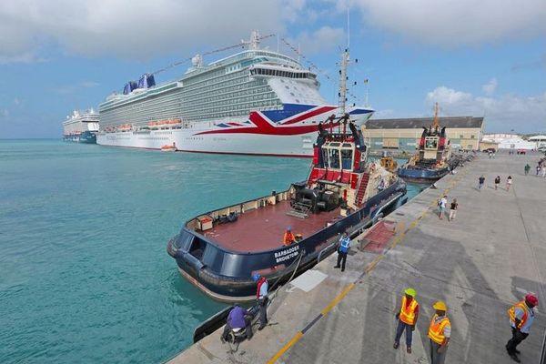 Barbade port de Bridgetown