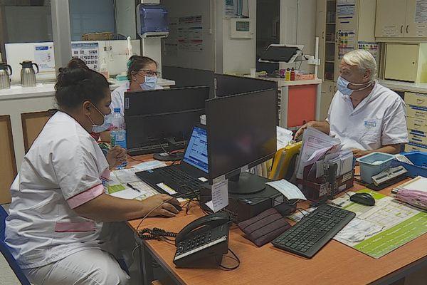 clinique, personnels santé