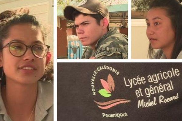 Pouembout : lycée agricole J-1 avant la visite d'Emmanuel Macron