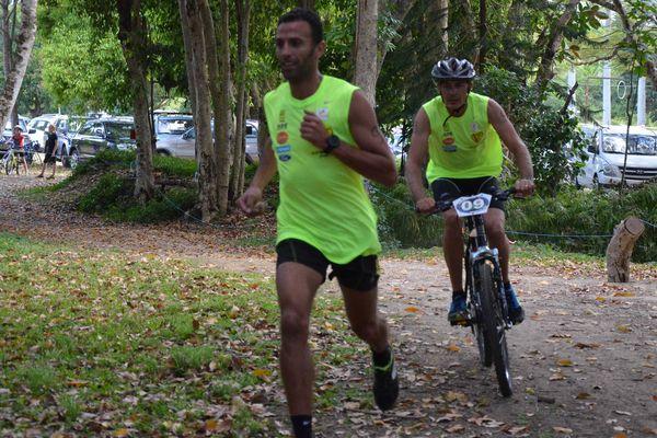 Une épreuve de run and bike