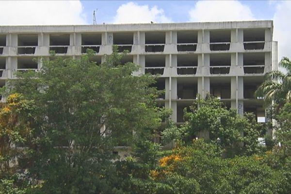 Hôtel en ruine