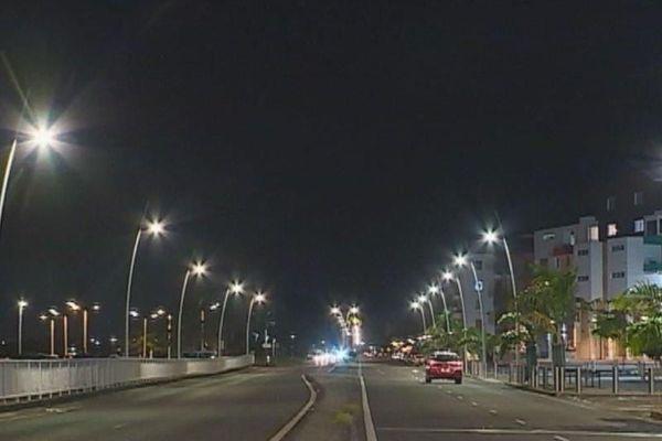 Pointe-à-Pître by night