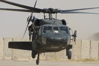 """Le """"Black hawk"""" équipe les trois armes de l'armée américaine"""