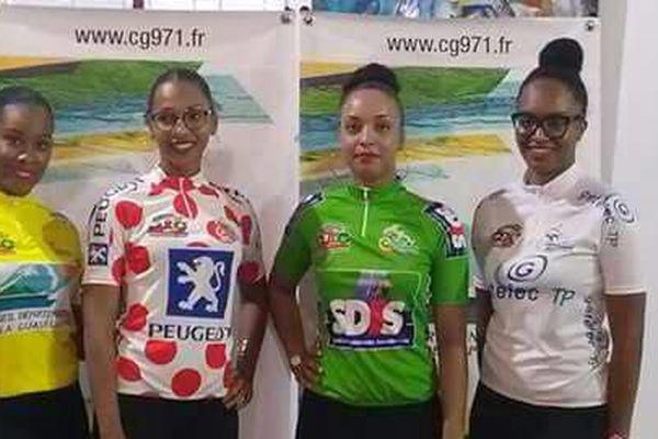 Présentation des maillots du 16ème Grand Prix du Conseil Départemental