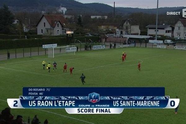 Foot : US Raon-l'Etape/US Sainte-Marienne, score final