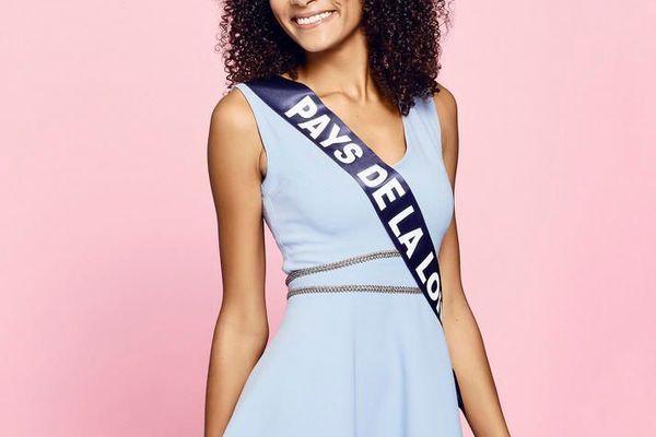 Diane Le Roux, 20 ans, Miss Pays de la Loire