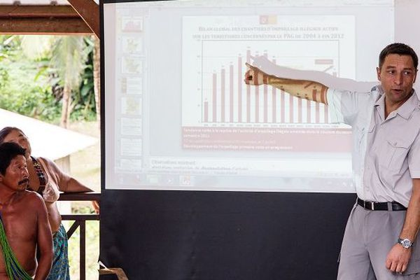 Frédéric Mortier avait aussi dirigé la mise en place du Parc national amazonien de Guyane.