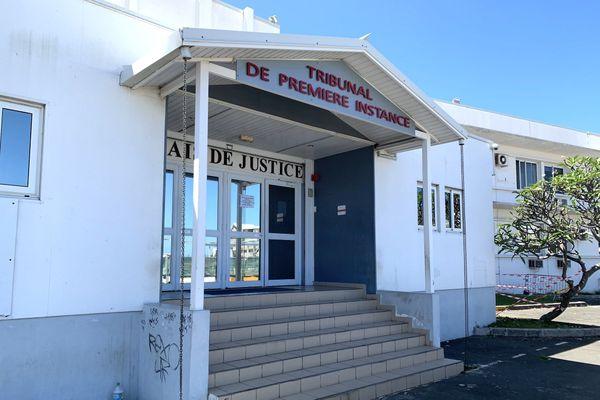 Tribunal de première instance de Nouméa, palais de justice, septembre 2020