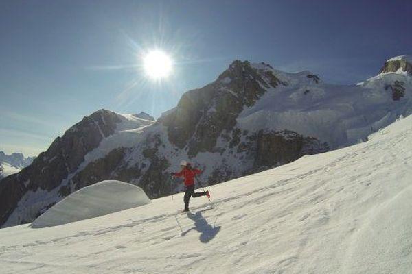 Kilian Jornet au Mont Blanc