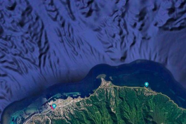 Constat de pollution au nord de Tahiti