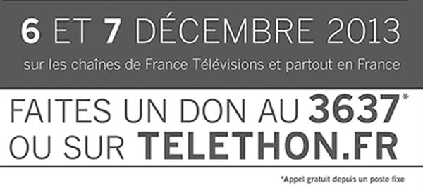 don téléthon 2013