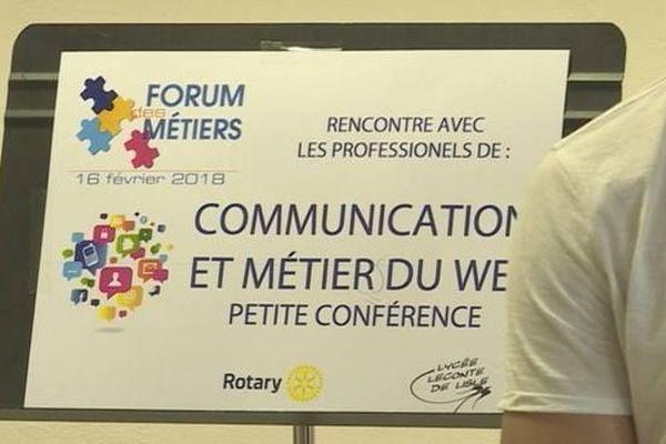 Forum des métiers Lycée Leconte De Lisle