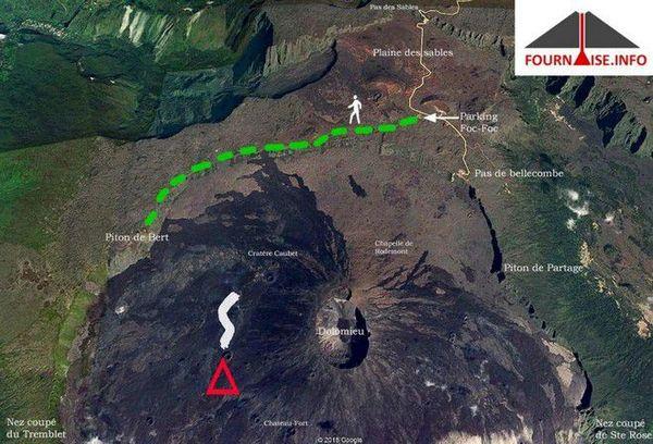 Volcan carte OVPF