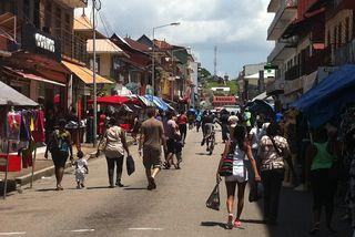 La braderie 2016 à Cayenne