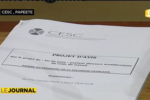 Le CESC favorable à  une loi encadrant tous les métiers du journalisme