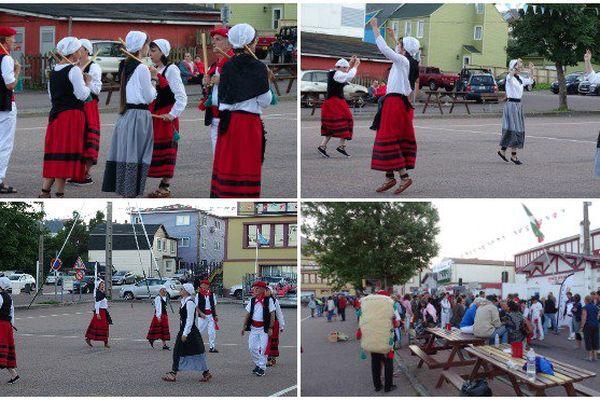 Les danseurs d'Orok-Bat unis pour faire vivre le folklore basque à Saint-Pierre