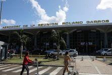 Aéroport Roland Garros, à Saint-Denis.