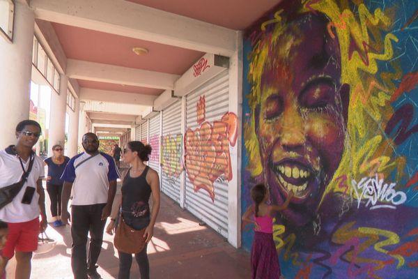 balade street art Pointe à Pitre