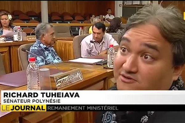 Nouveau gouvernement : Richard Tuheiava « vigilant »