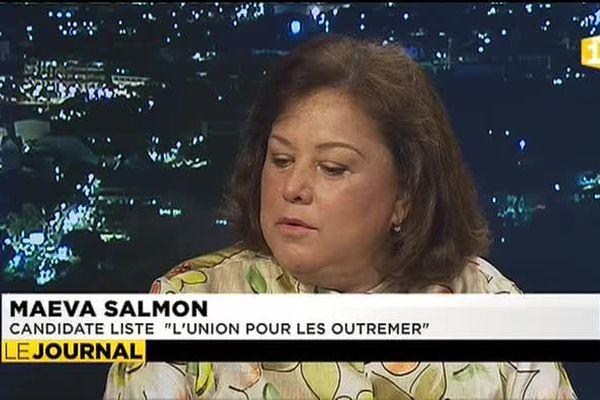 Maeva Salmon candidate de « L'union pour les outremers »