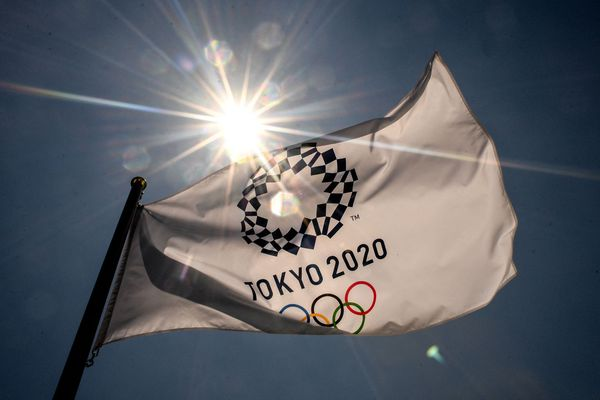 Drapeau Tokyo 2020
