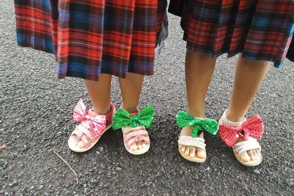 """""""Crazy Shoes Day"""" nœud papillon"""