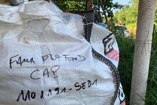 Les déchets proviendraient de plusieurs sites traités