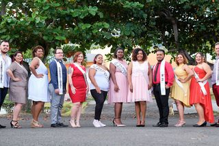 Election Miss Ronde Mister Rond