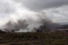 incendie dans les bâtiments administratifs de l'usine