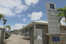 le siège d'Odyssi